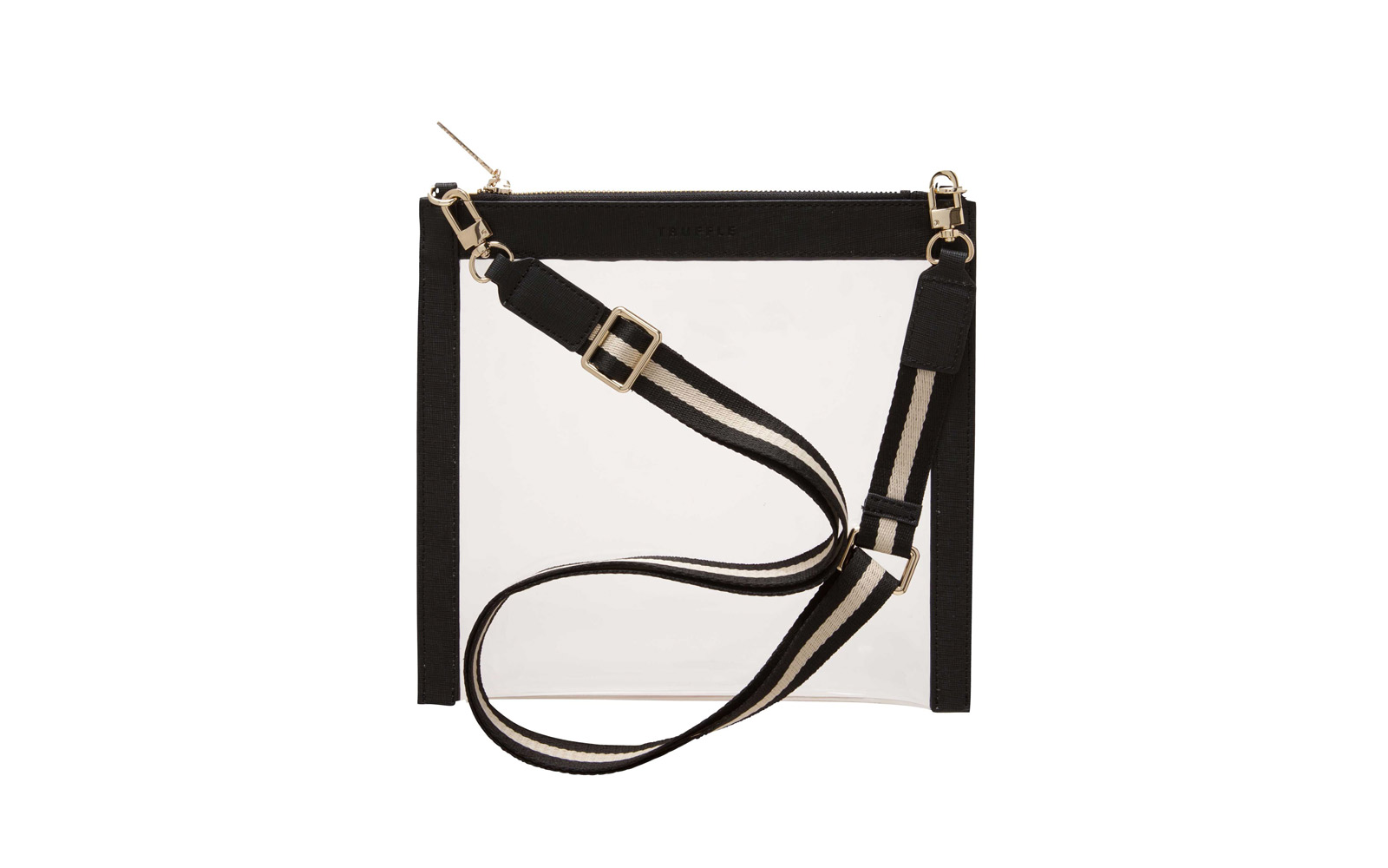 truffle clear crossbody bag