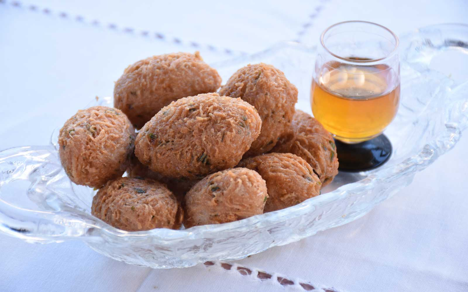 Malanga Fritters at El Atelier from A Taste of Cuba by Cynthia Carris Alonso