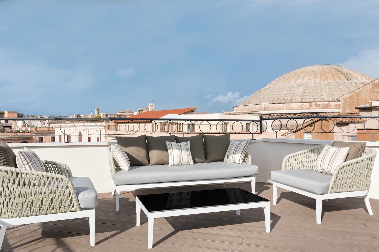 Pantheon Iconic Rome Hotel rooftop