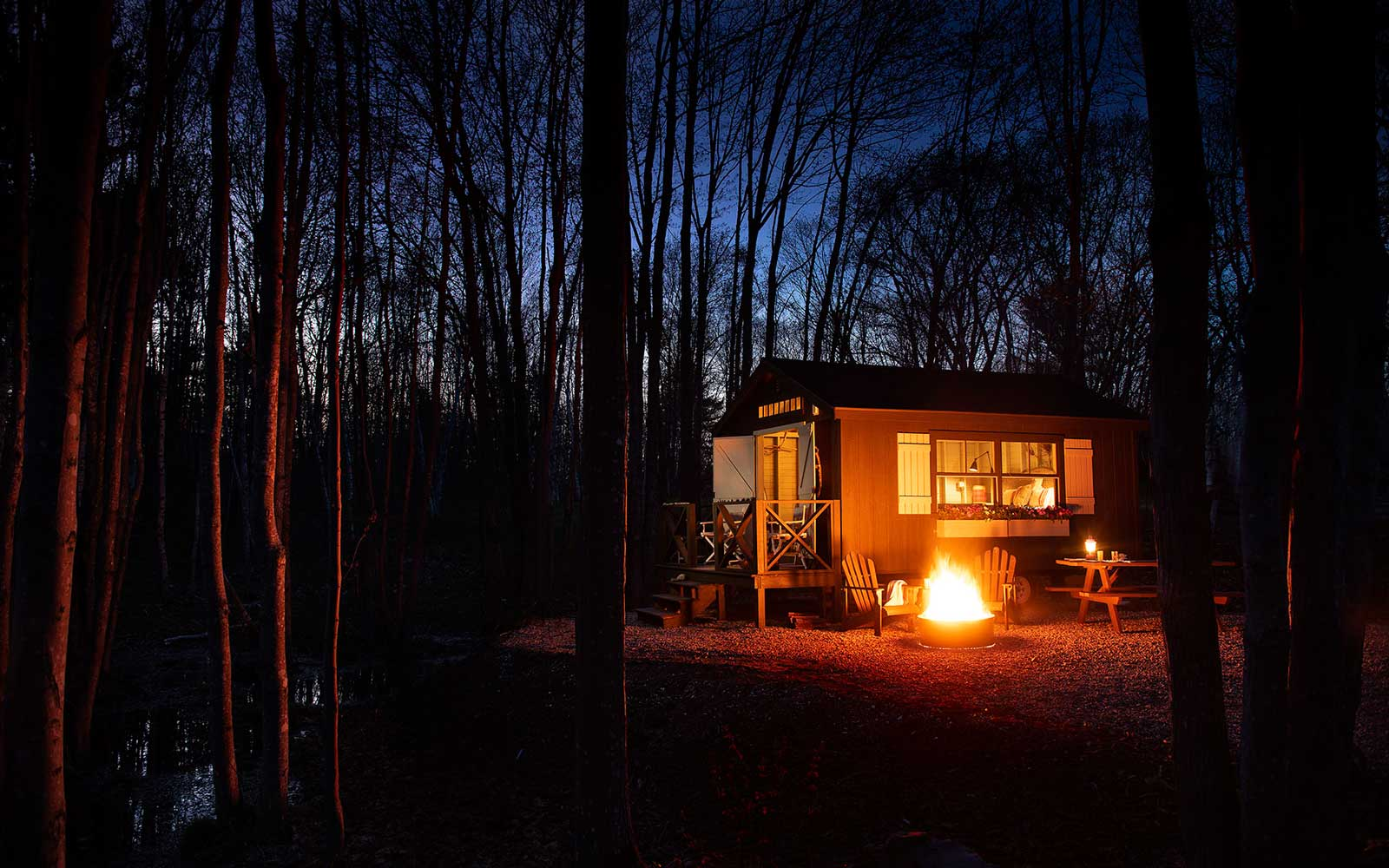 Sandy Pines Campground, Maine