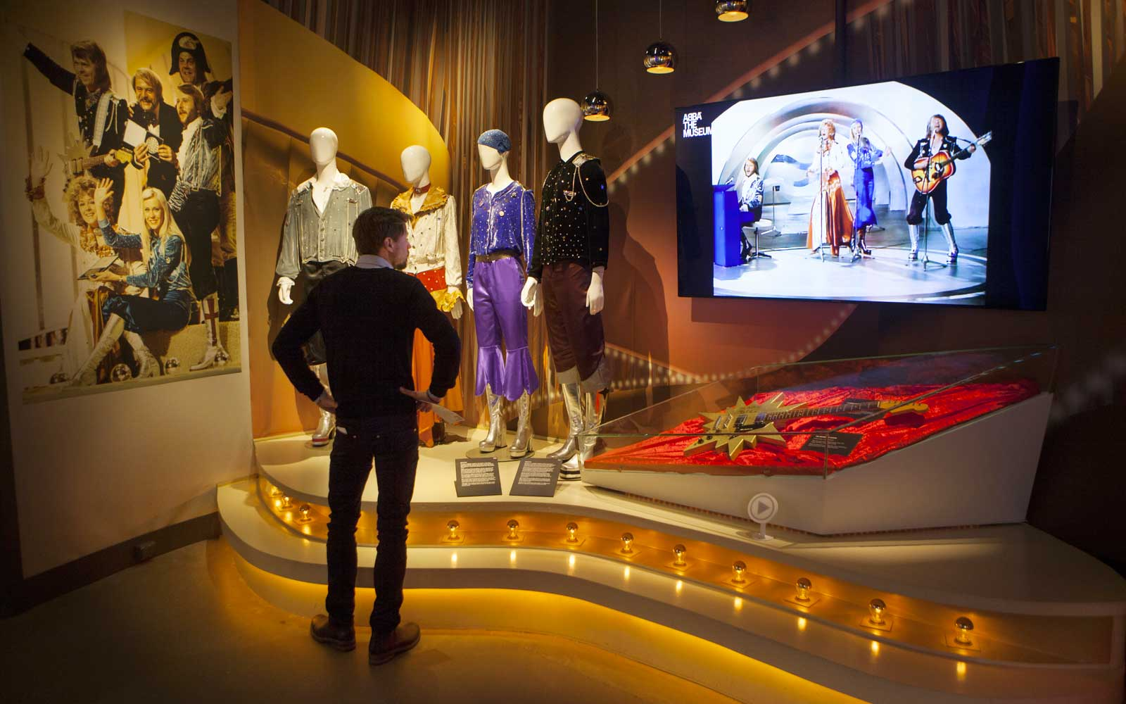 ABBA museum in Stockholm, Sweden