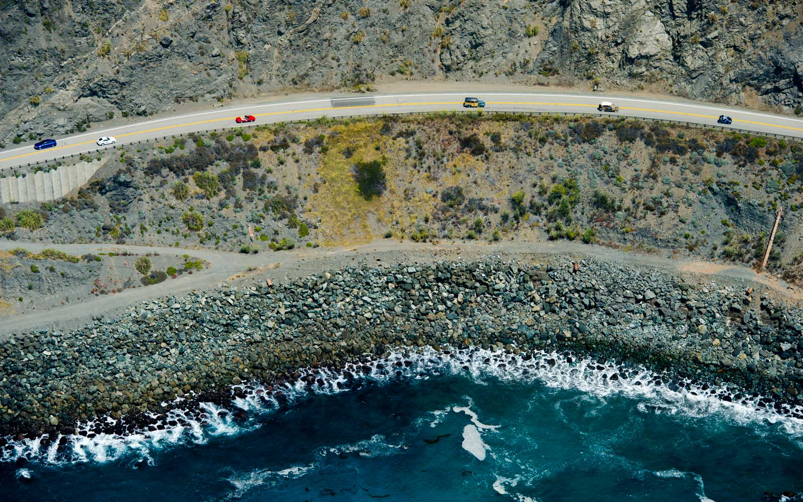 California Highway 1 reopened