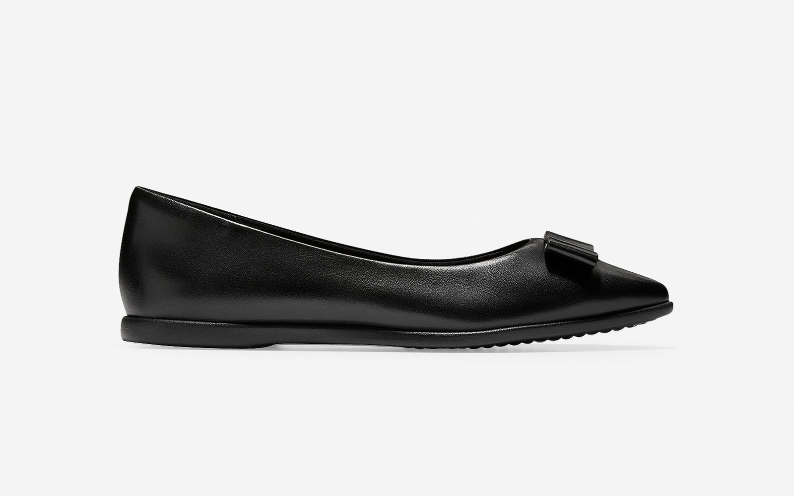 Cole Haan Bow Skimmer Flat in Black