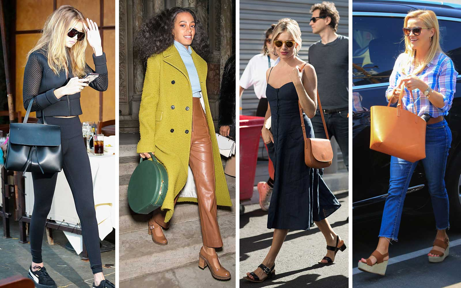 Gigi Hadid, Solange Knowles, Sienna Miller, and Reese Witherspoon