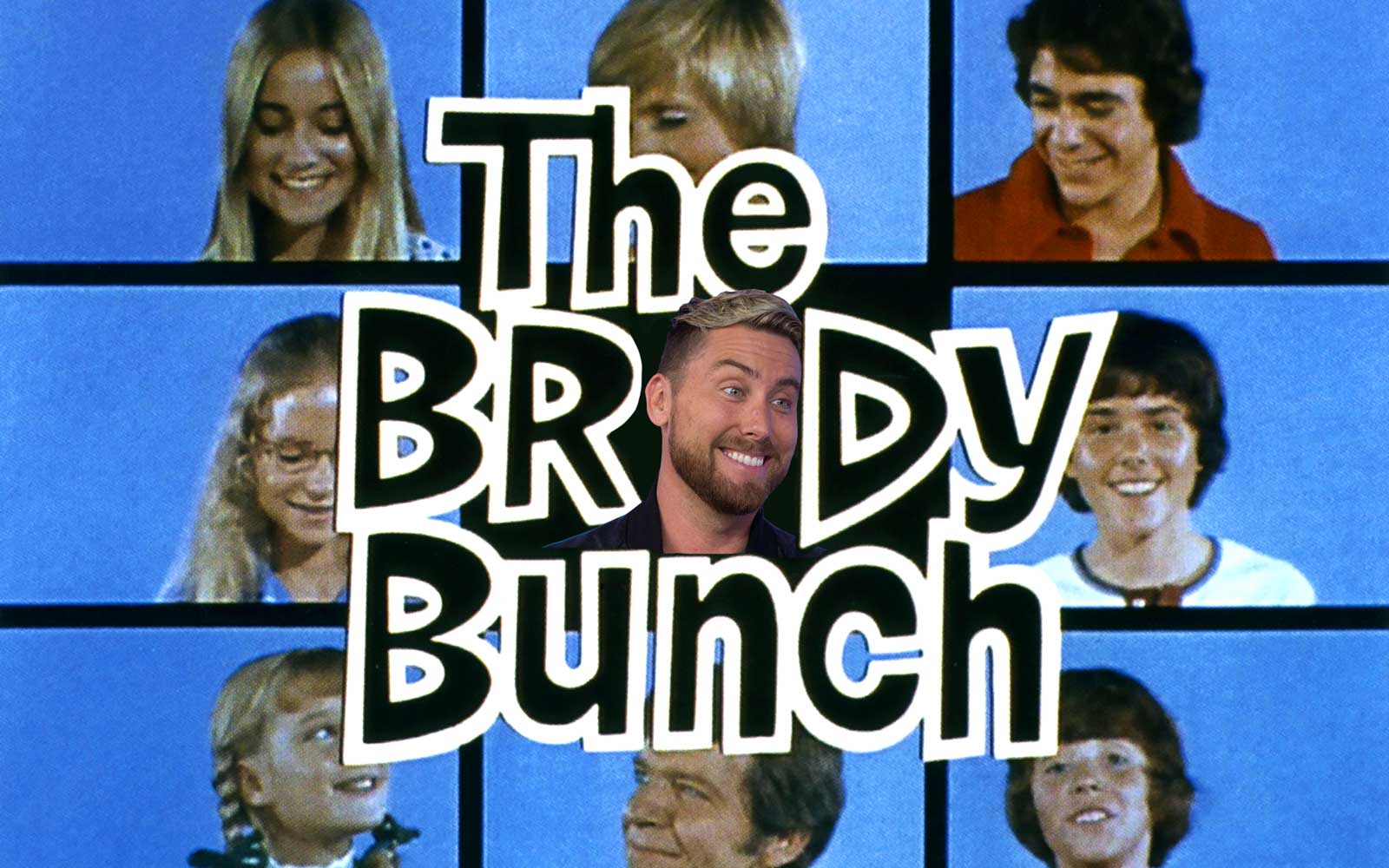 The Brady Bunch with Lance Bass