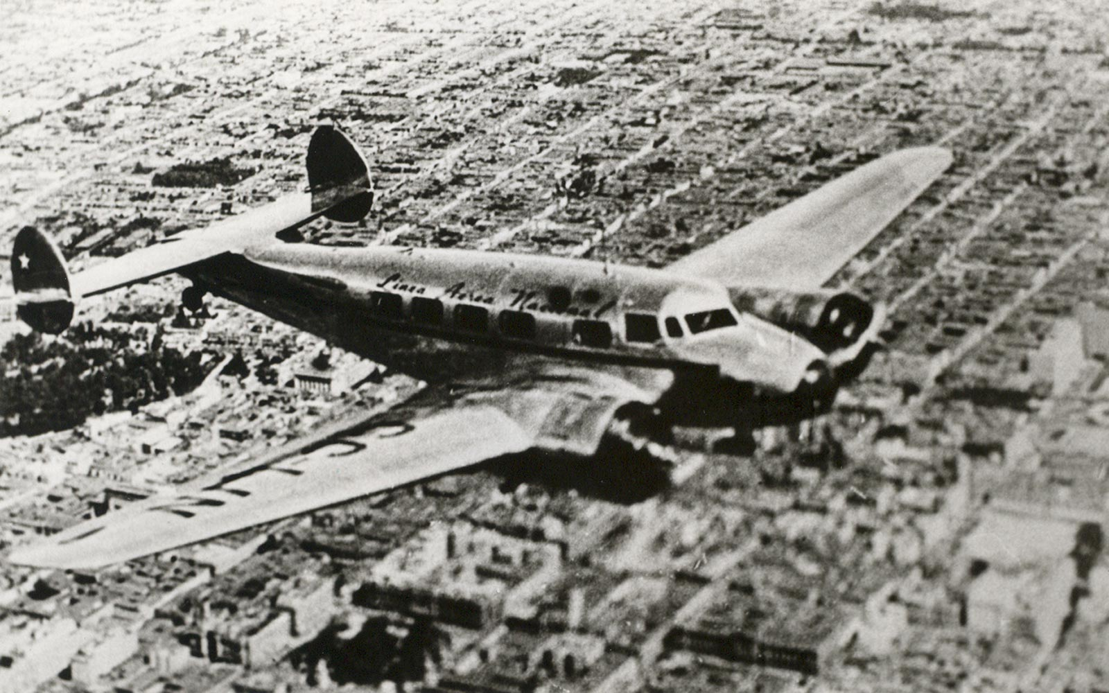 LAN airlines plane in July, 1932
