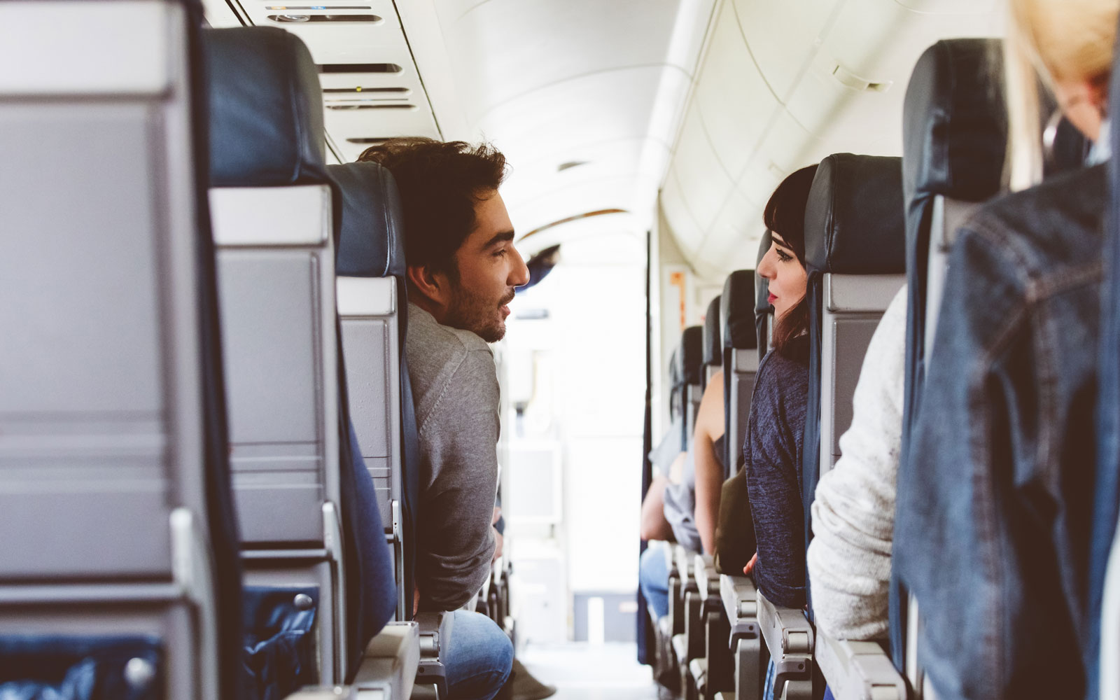 A new survey shows flights can be one of the ways to meet your potential partner.