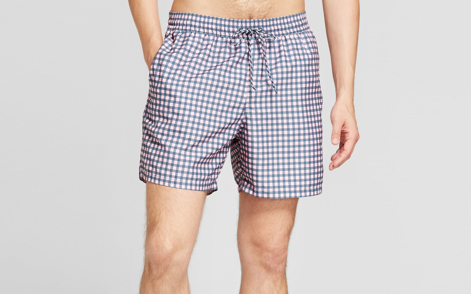 Goodfellow & Co. Pink Gingham Trunks