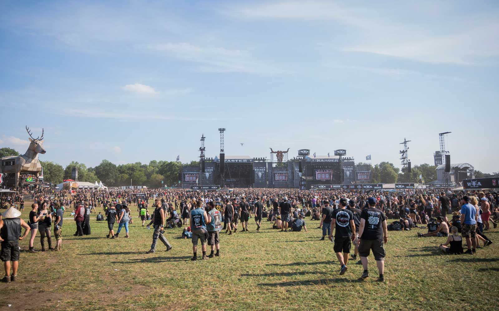 Wacken Open Air festival on August 2, 2018 in Wacken, Germany.