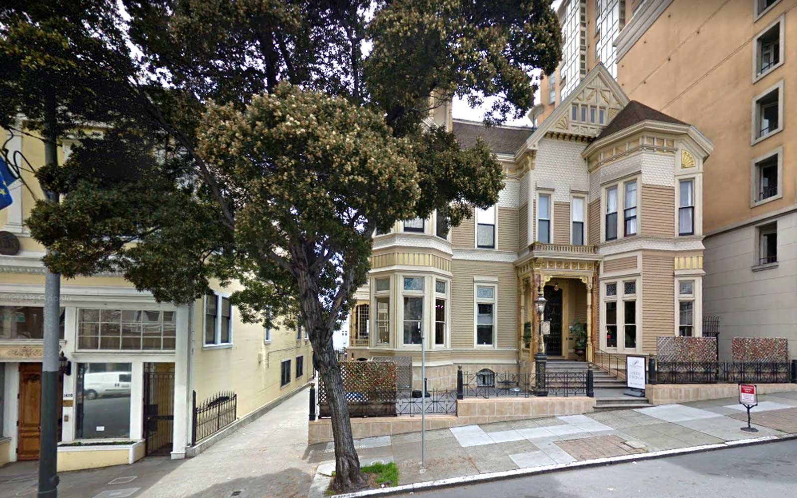 1409 Sutter St. on Google Maps Streetview