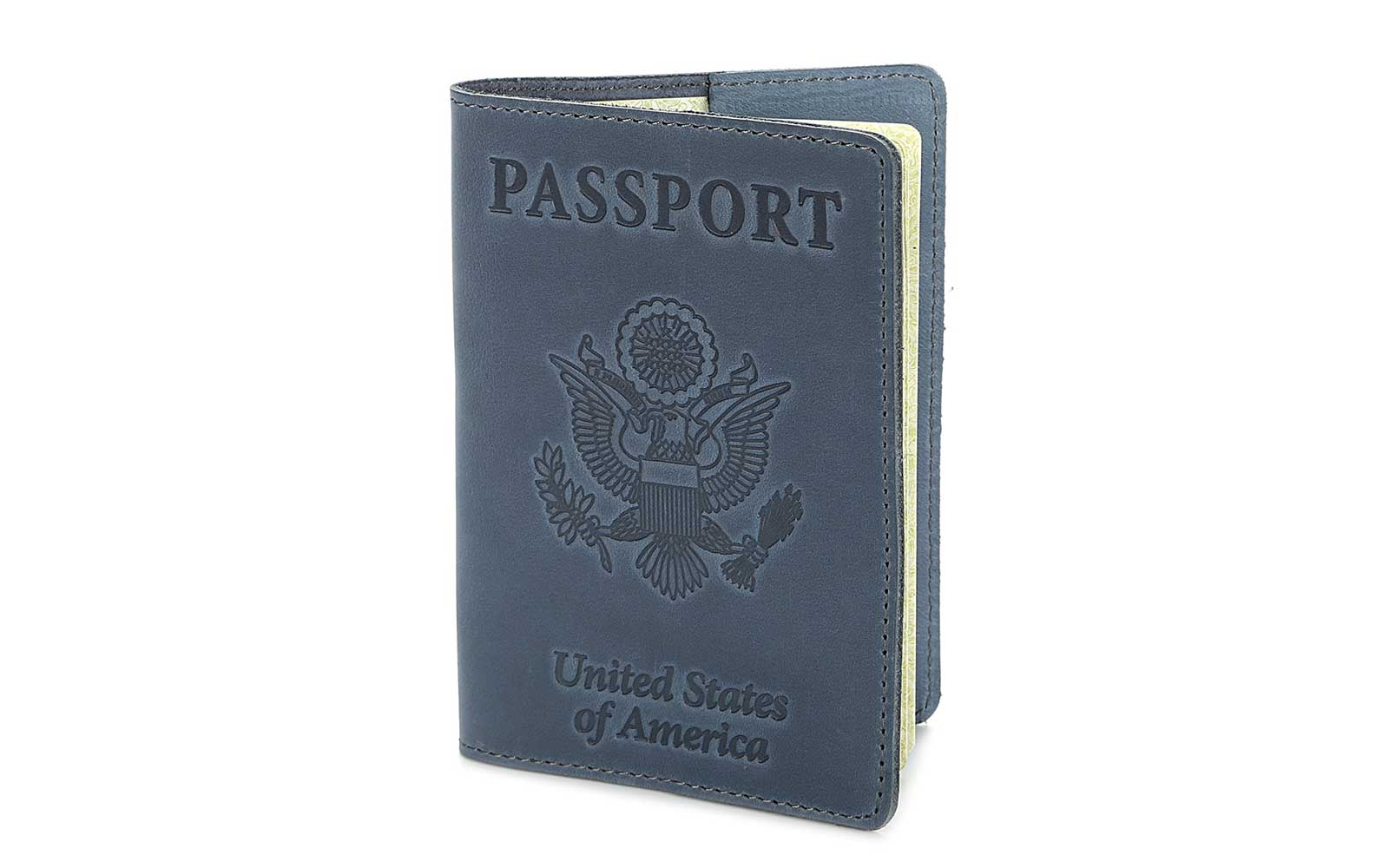 Shvigel Leather Passport Cover