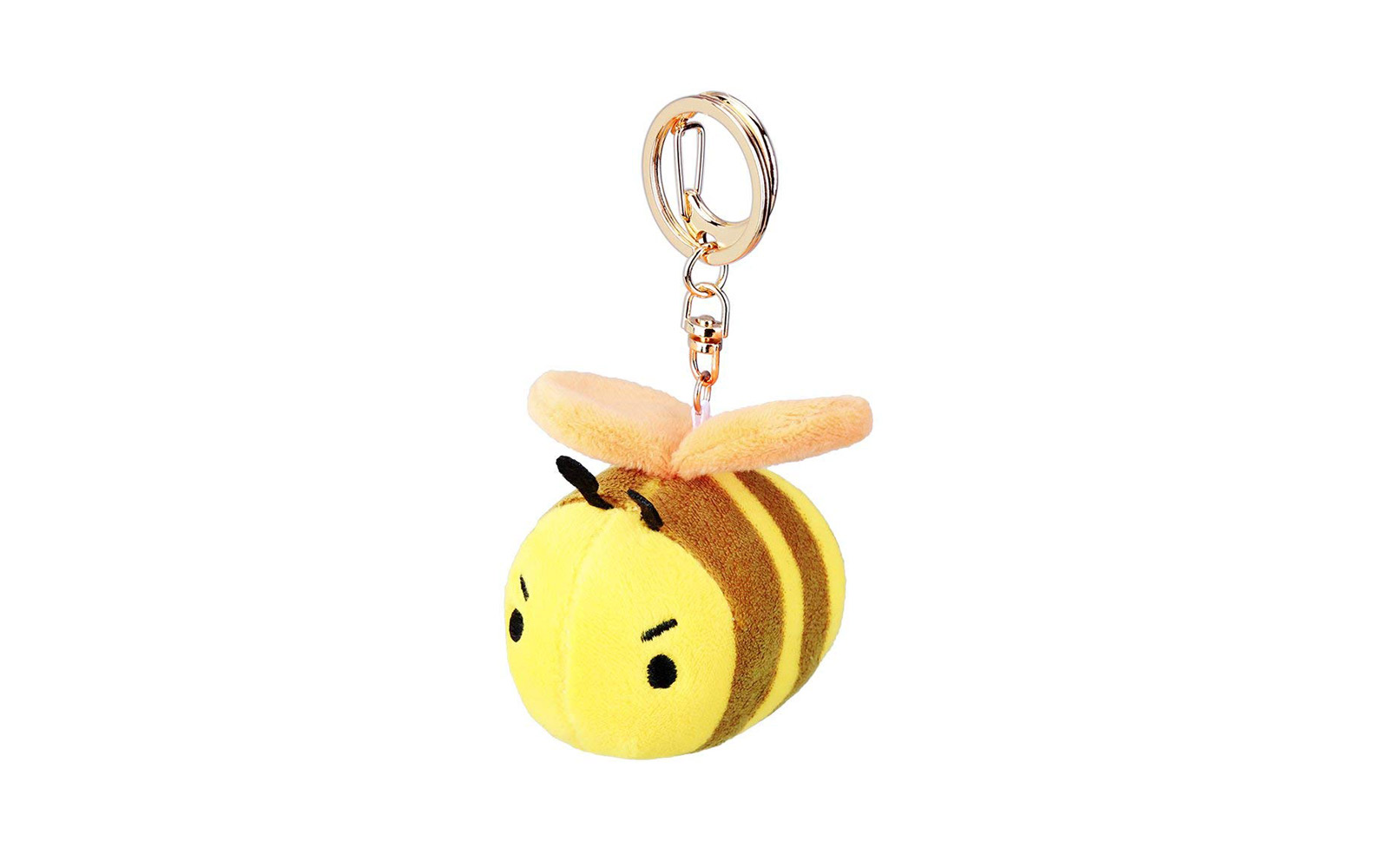 Bear Gentleman Mini Bee Keychain Alarm