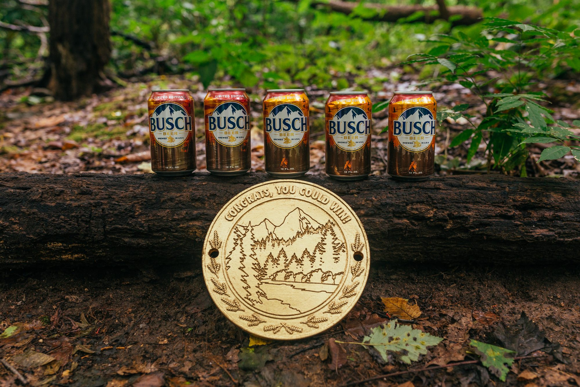 Busch Offers Free Beer for a Year to Anyone Who Can Find These Medallions Hidden in National Forests