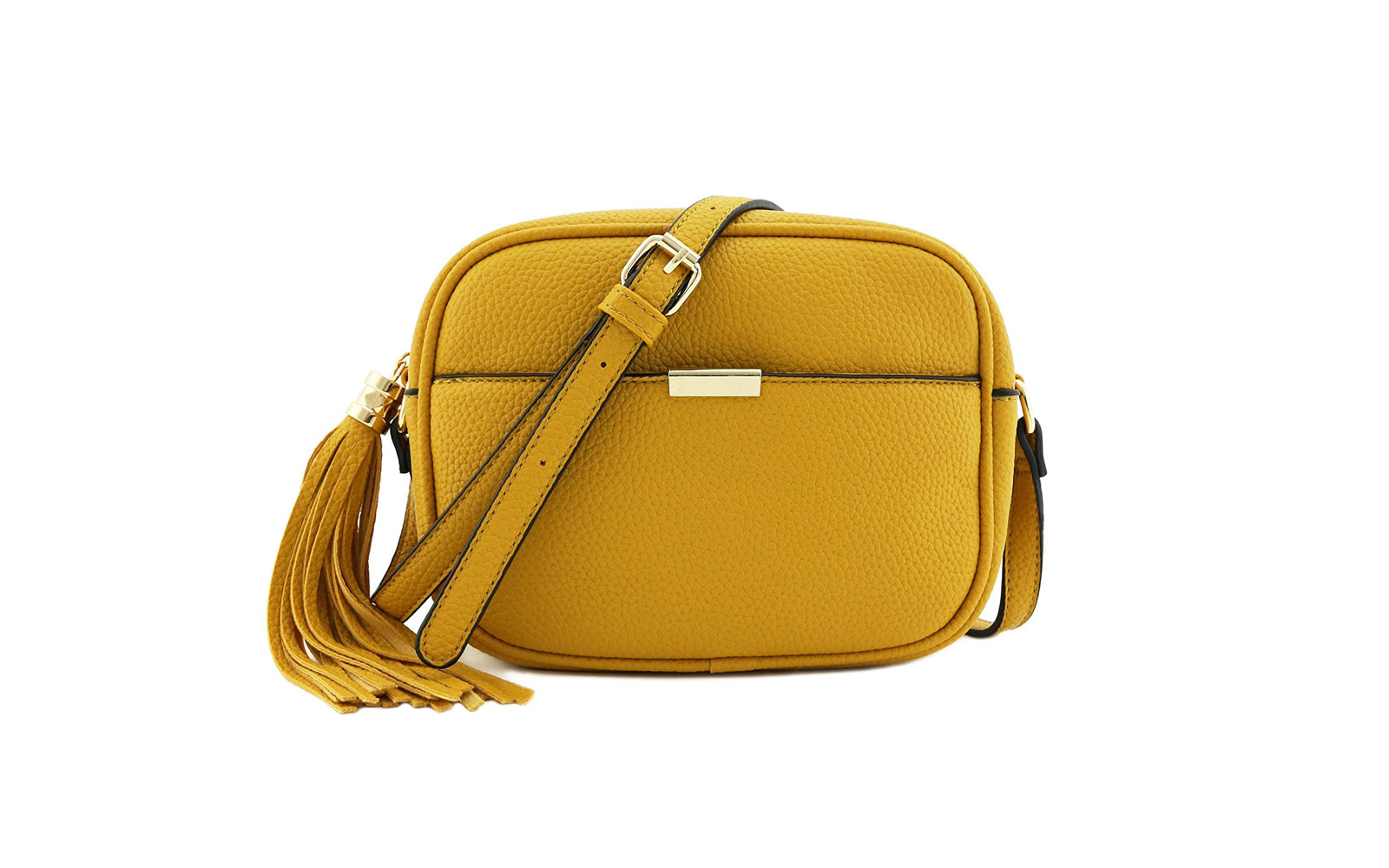 Square Tassel Cross-body Bag