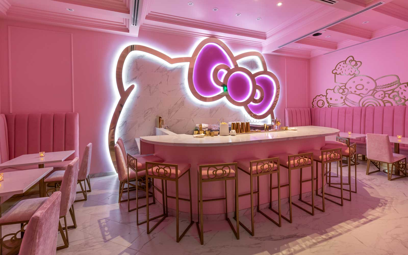 Hello Kitty Cafe in Irvine, California