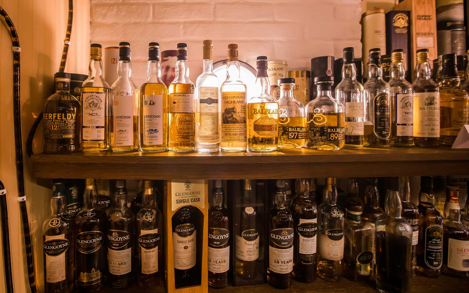 Hotel Skansen in Sweden is home to the most varieties of whisky that are commercially available.