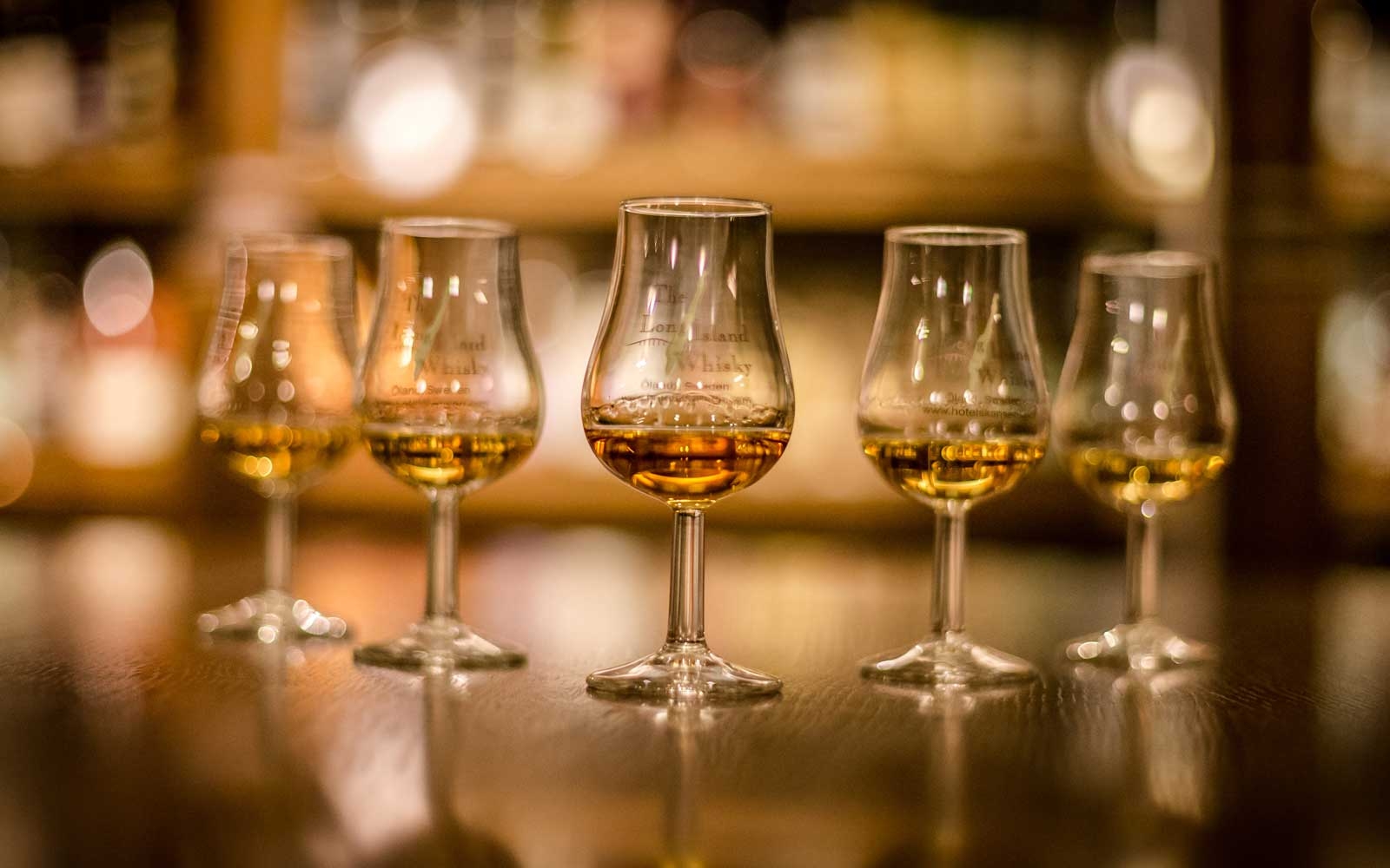 Whisky tastings can be booked as packages when staying at Sweden's Hotel Skansen.