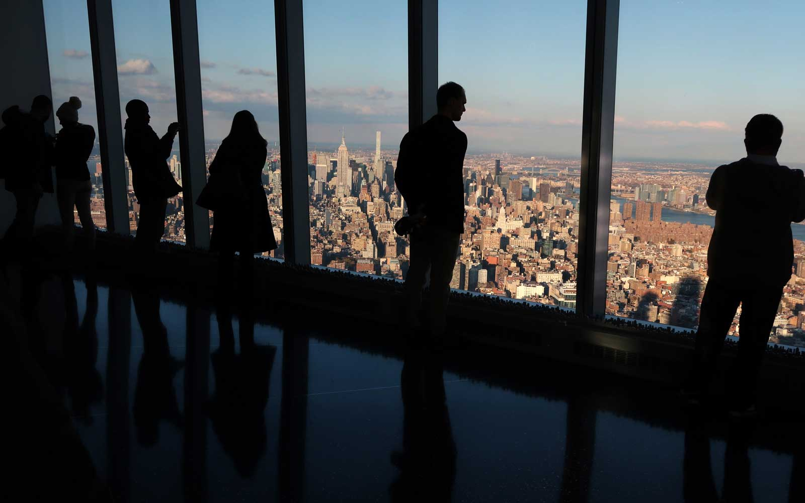Views of New York City From One World Observatory