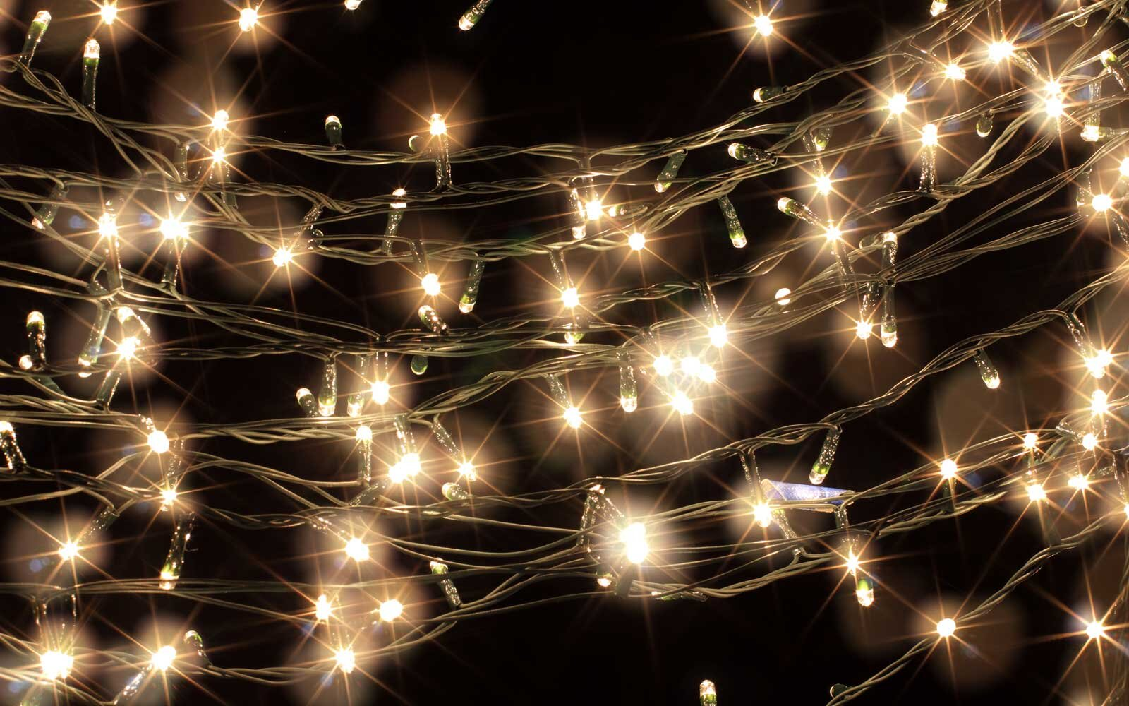 Fairy Lights For An In Flight