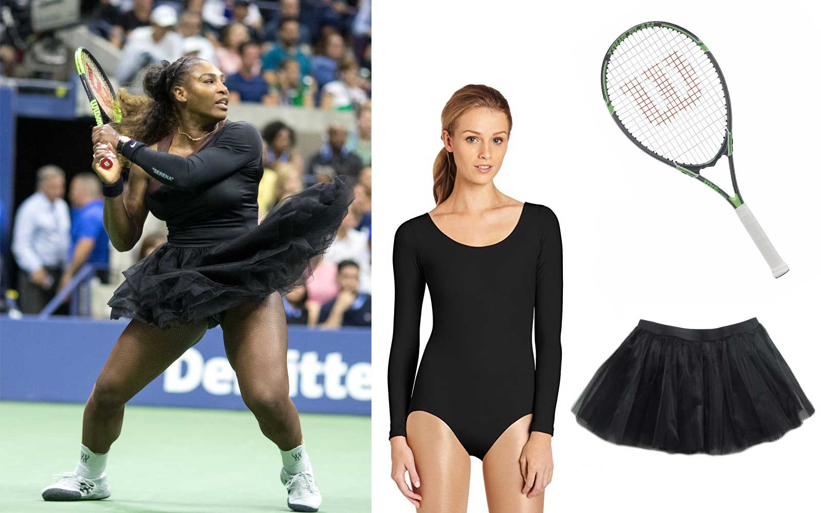Serena Williams US Open Halloween Costume
