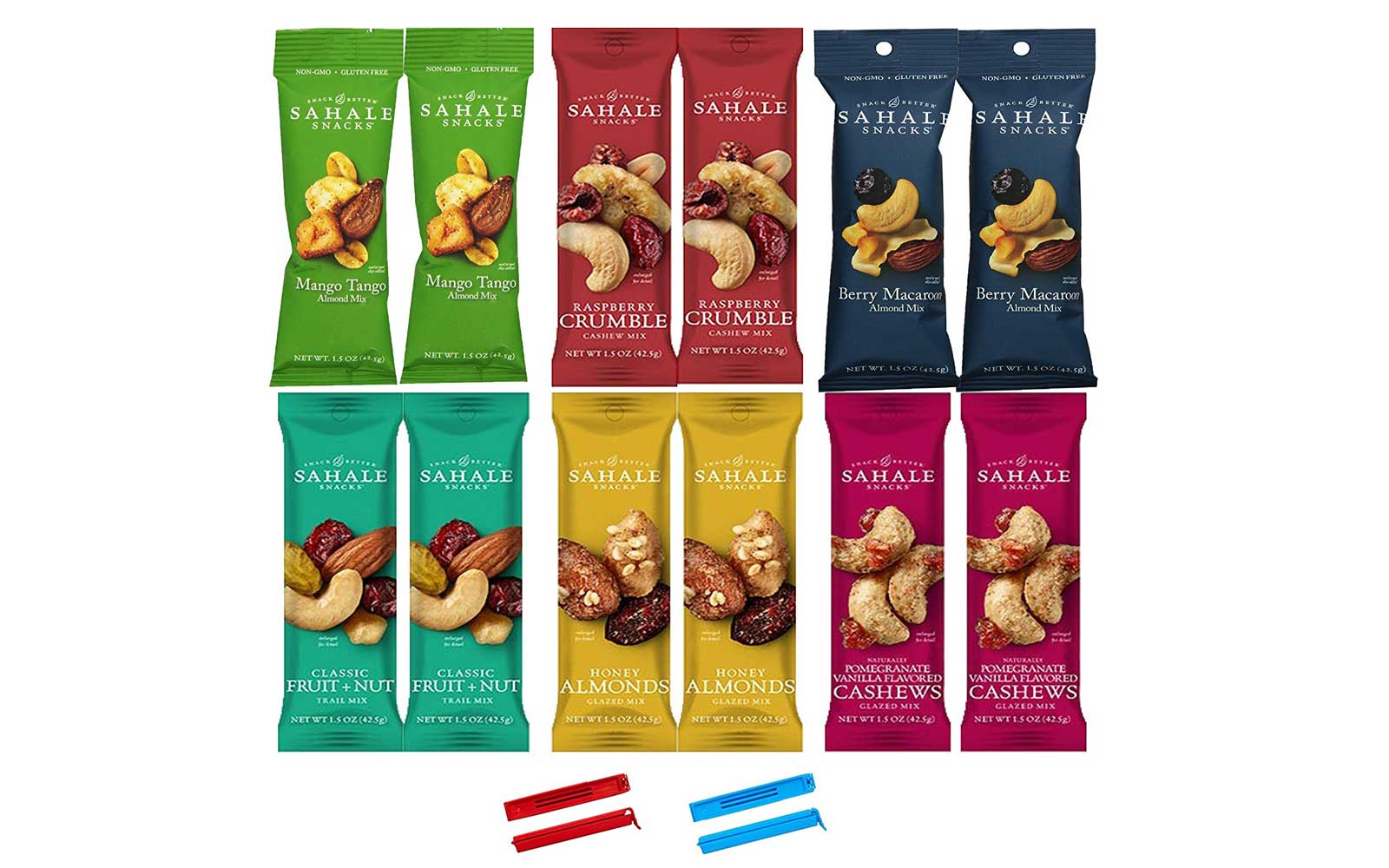 Sahale Snacks All Natural Nut Blends Variety Pack
