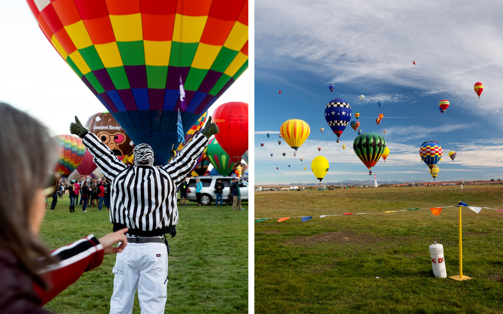 Competition Begins at the Albuquerque International Balloon Fiesta