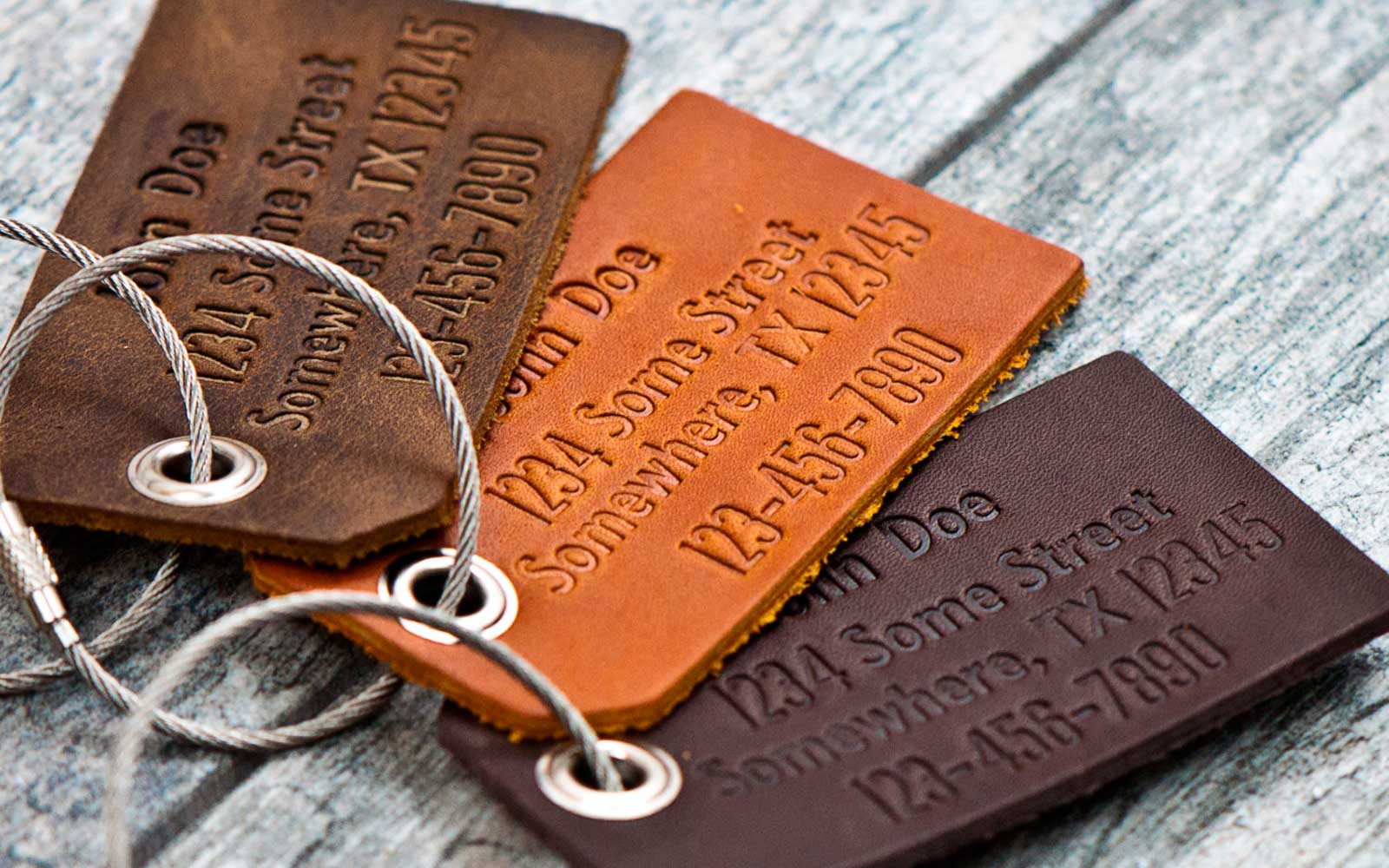 Locally Made Luggage Tags