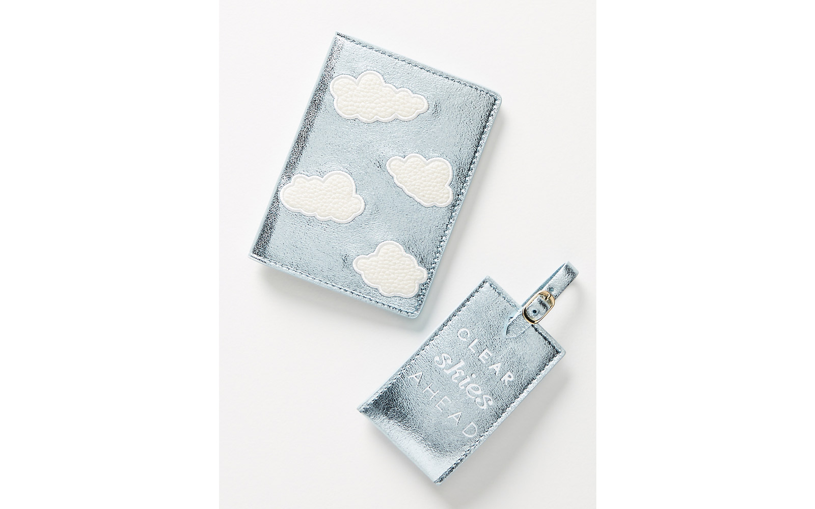 anthropologie luggage tag set
