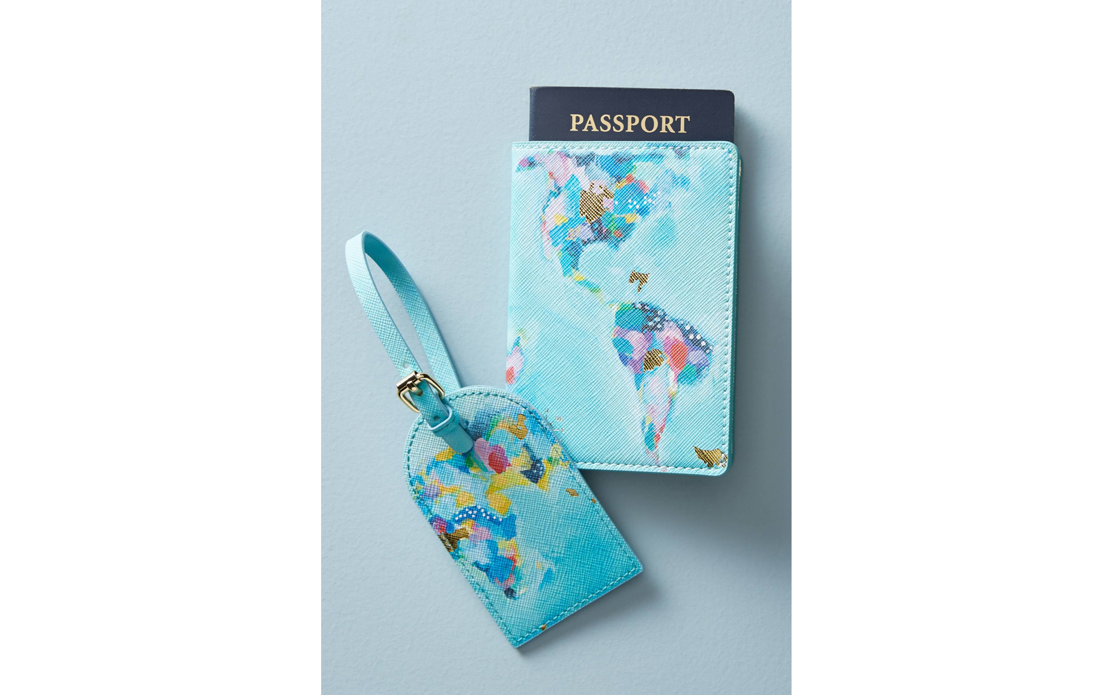 anthropologie luggage tags