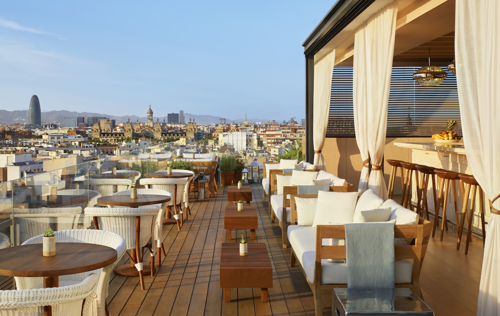 Barcelona Edition rooftop