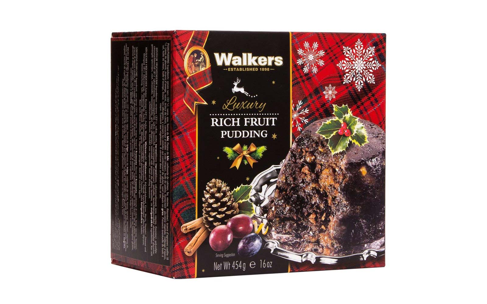 Walkers Shortbread Rich Fruit Pudding