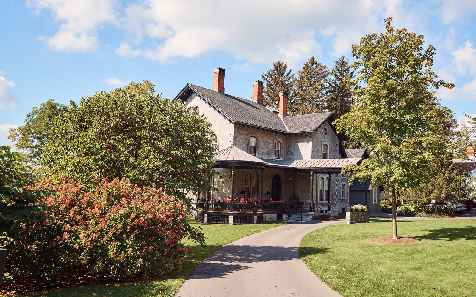Inns of Aurora EB Morgan House, in the Finger Lakes region
