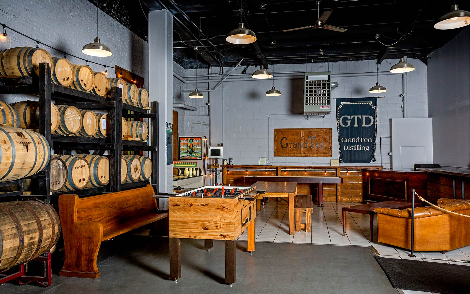 GrandTen Distilling, Boston, MA