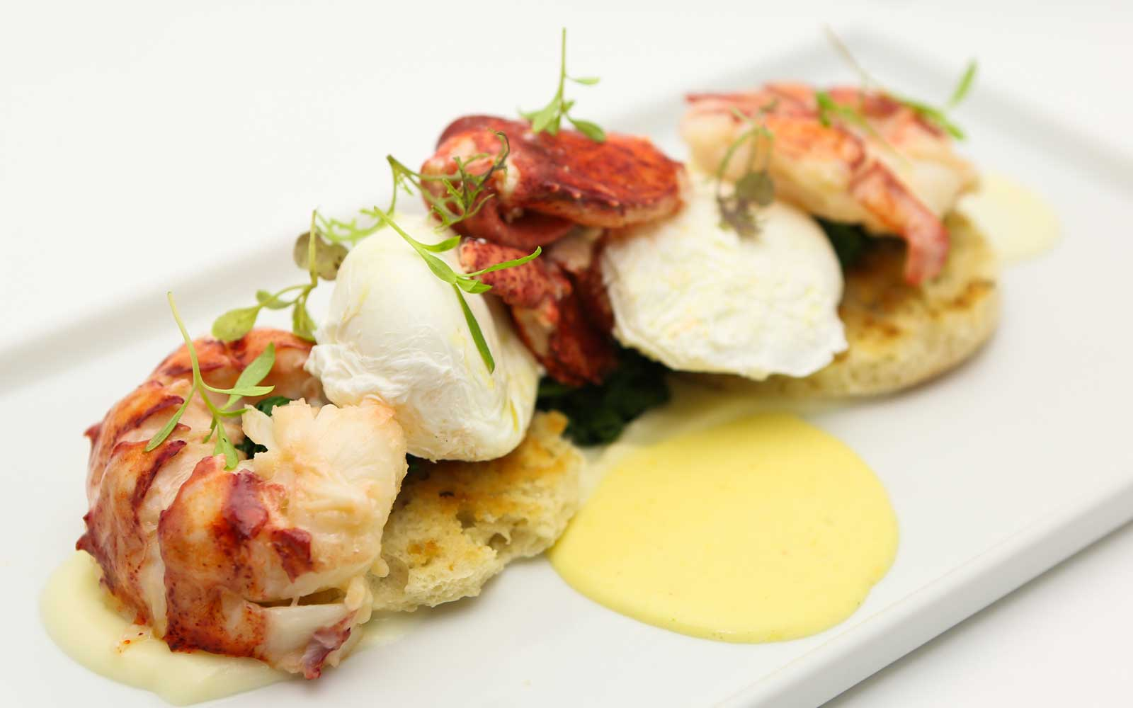 Lobster Benedict Disney