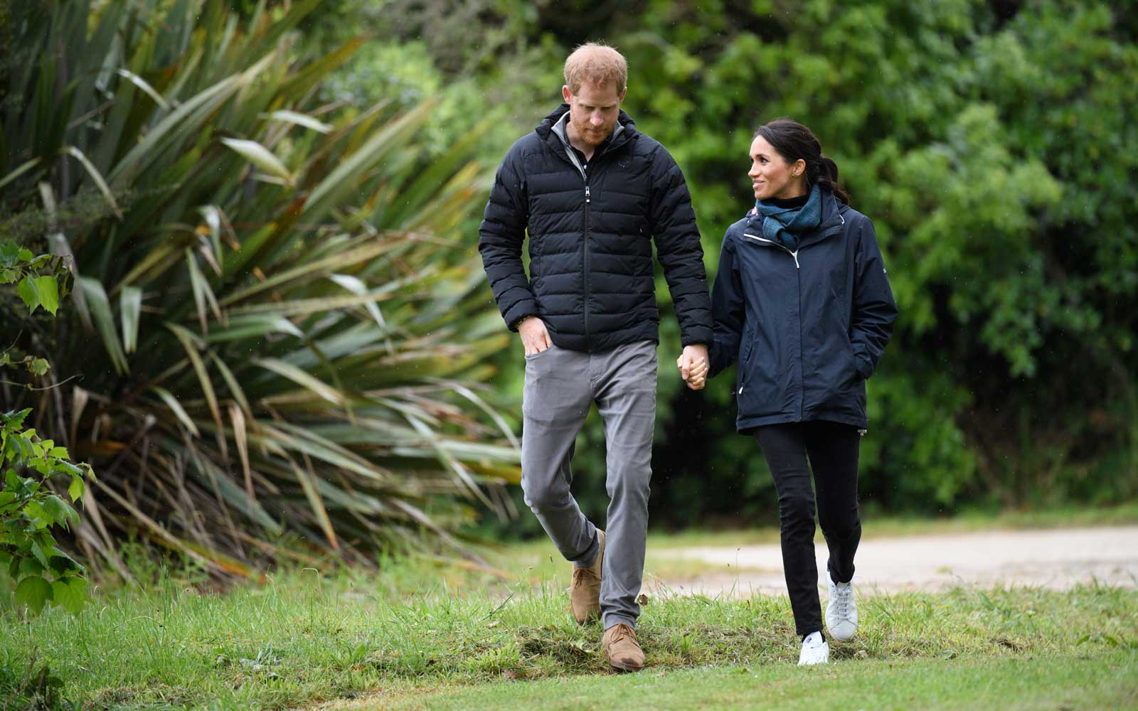 The Duke And Duchess Of Sussex -- Harry and Meghan --  Visit New Zealand