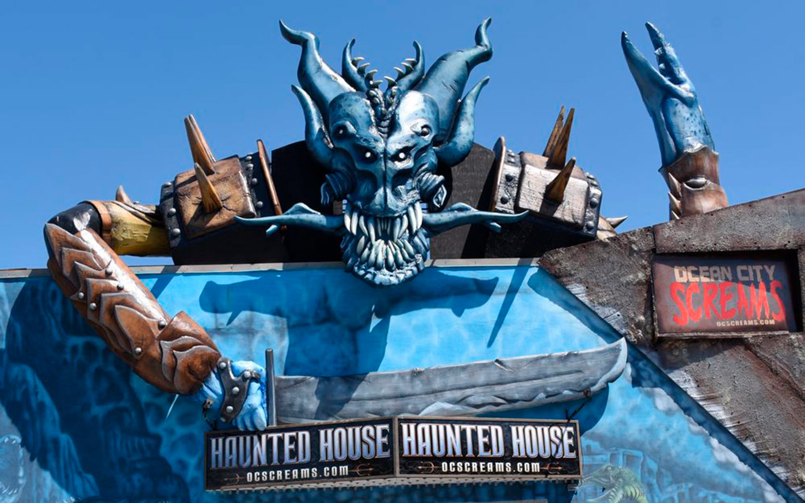 Ocean City Screams Haunted House, Ocean City, Maryland