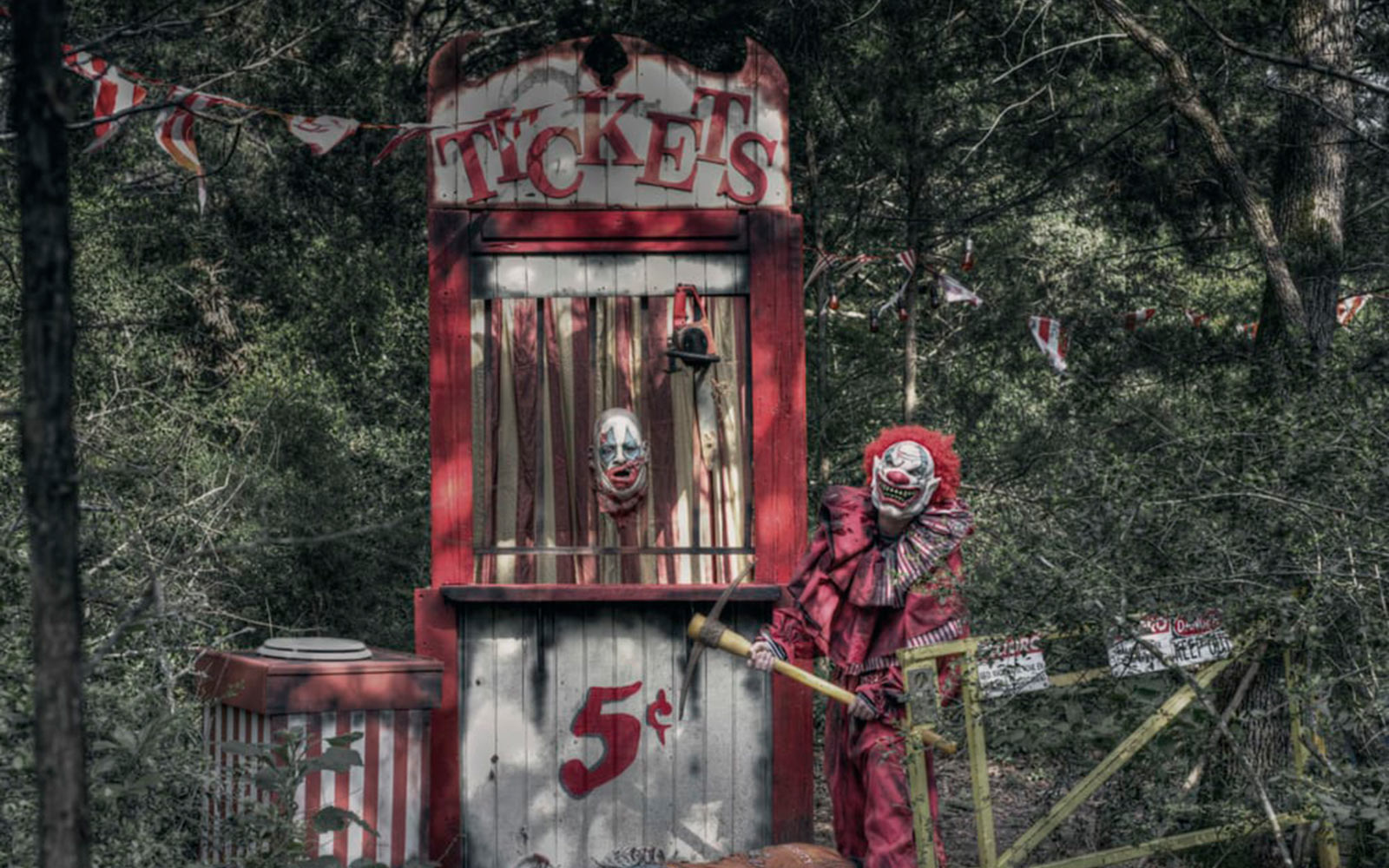 Scream Hollow wicked Halloween Park, Smithville, Texas