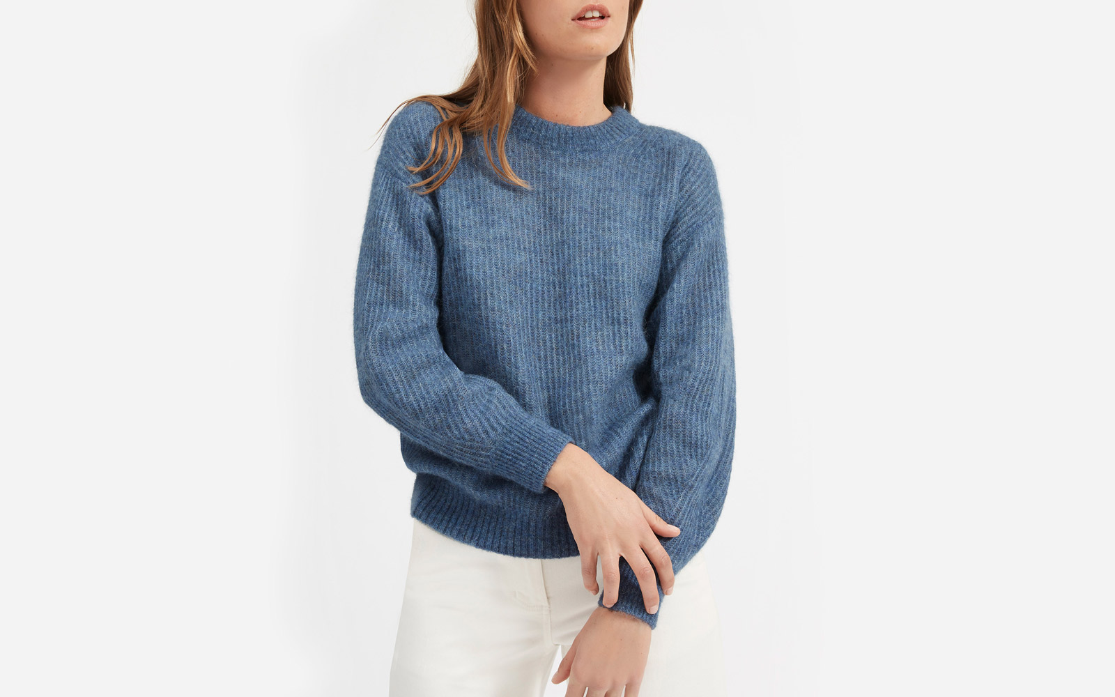 alpaca sweaters everlane