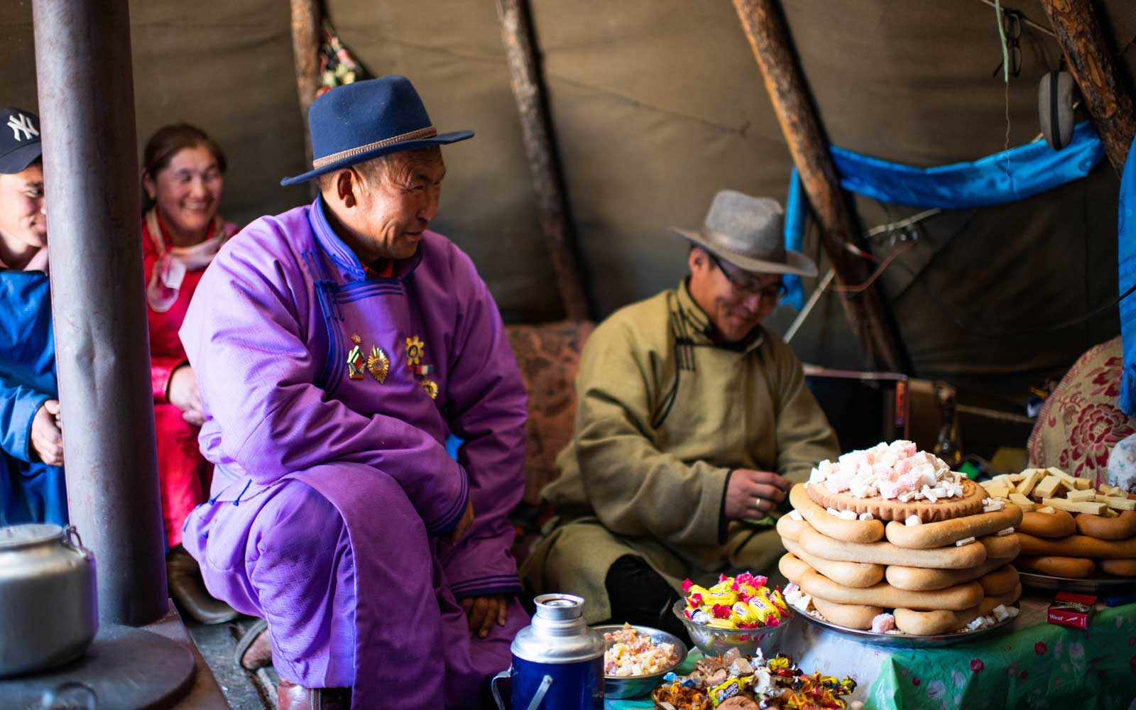 Stay in close quarters with nomadic families in Mongolia to learn their way of life.