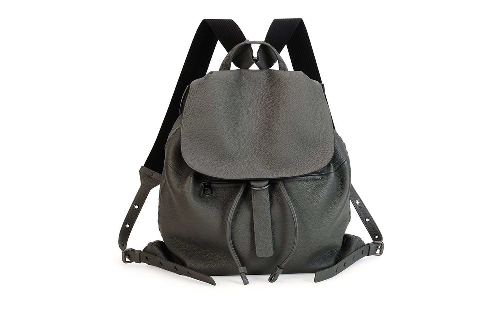 Bottega Woven Leather Backpack