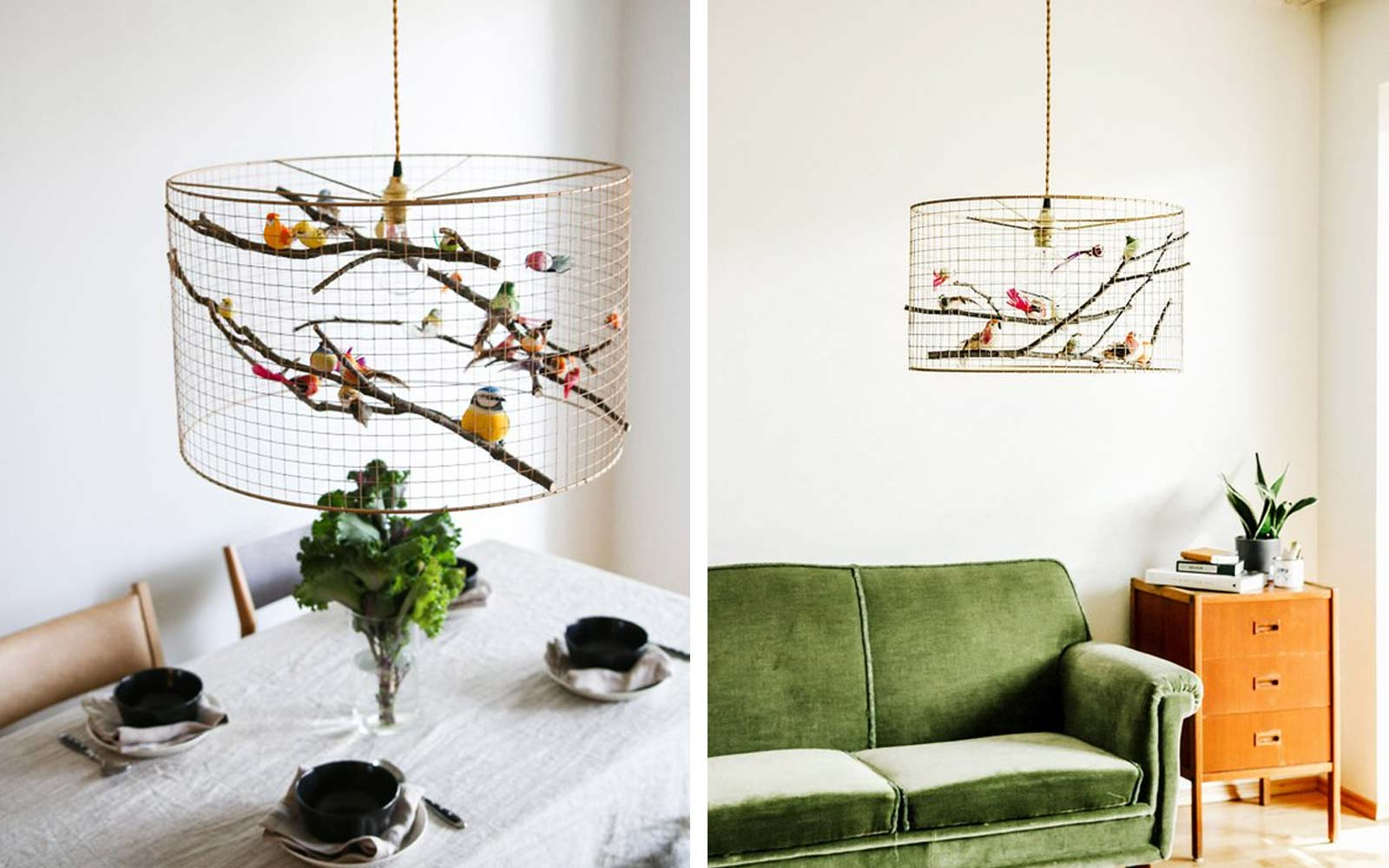 Birdcage Pendant Light Chandelier