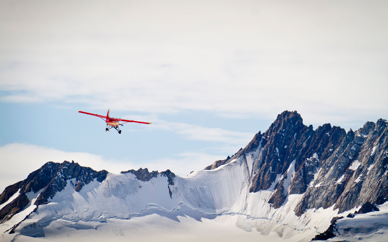 Glacier Flightseeing at Kluane National Park