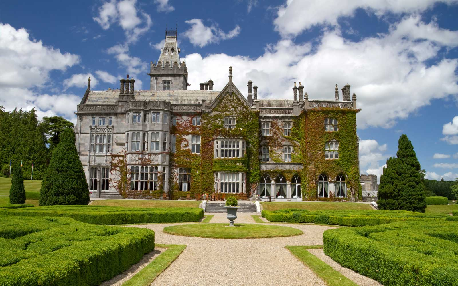 Adare Manor Castle in Ireland