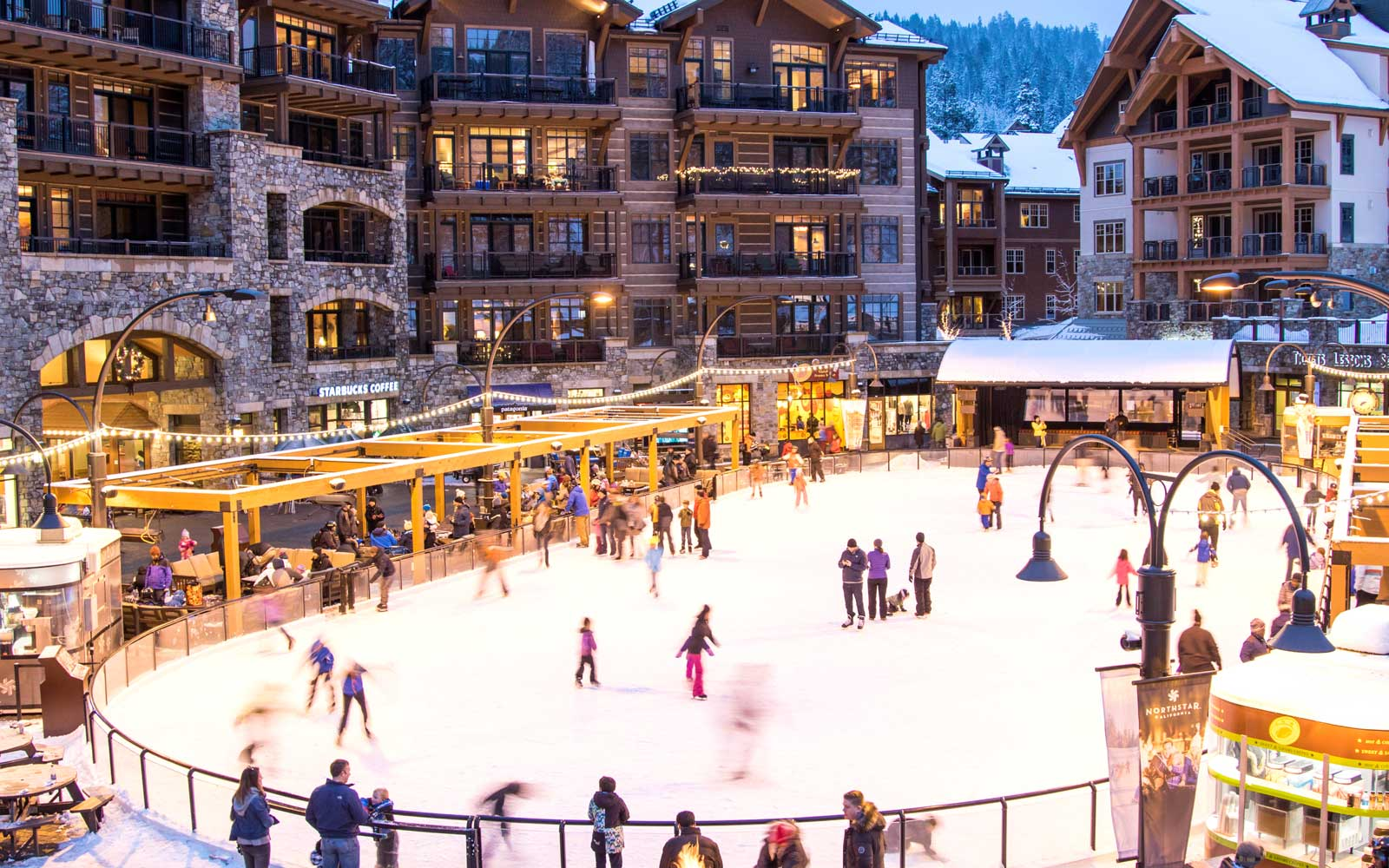 Live Music and Ice Skating at Northstar California Resort: North Lake Tahoe