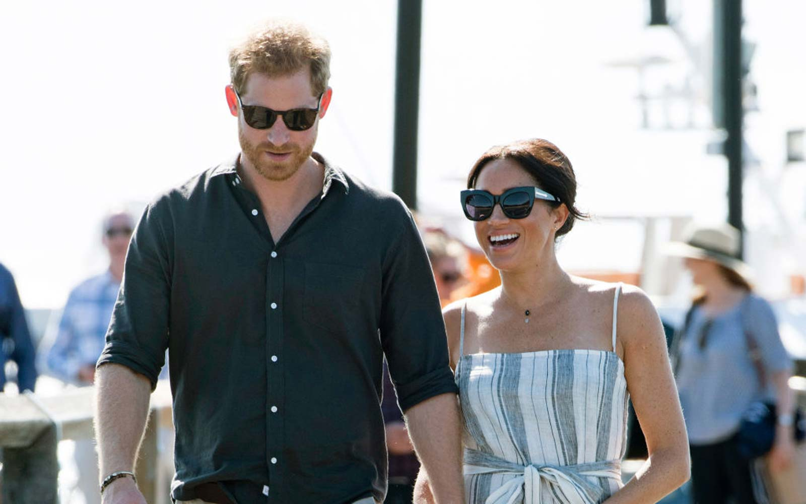 Prince Harry, Duke of Sussex and Meghan, Duchess of Sussex visit Kingfisher Bay Resort