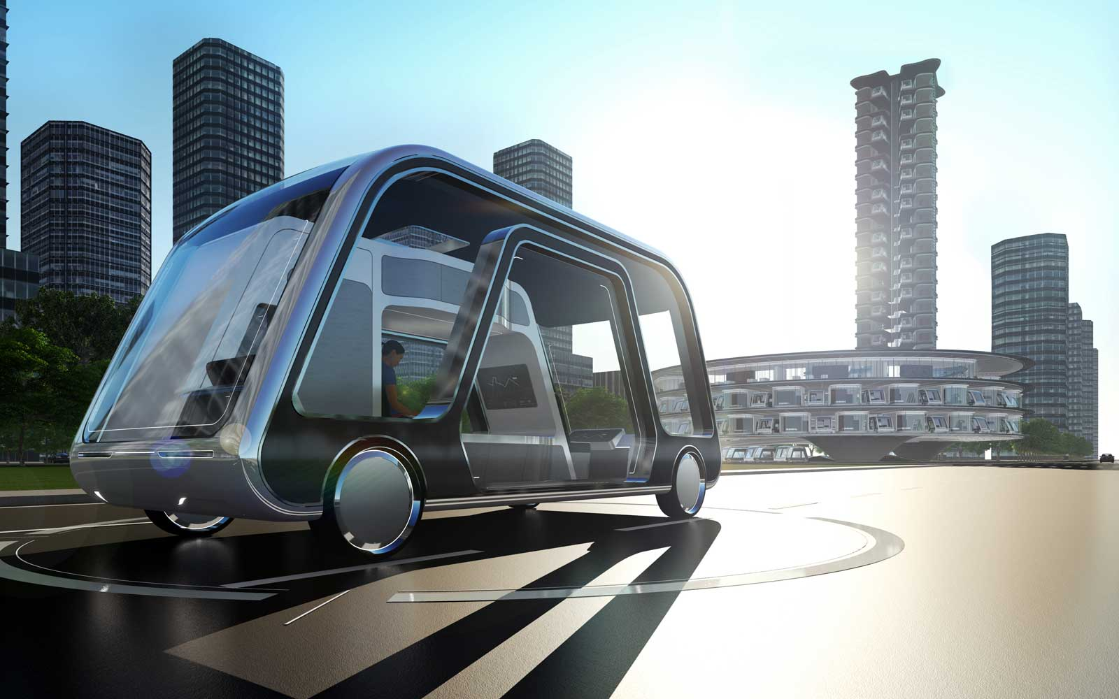 Personal hotel suite vehicle concept