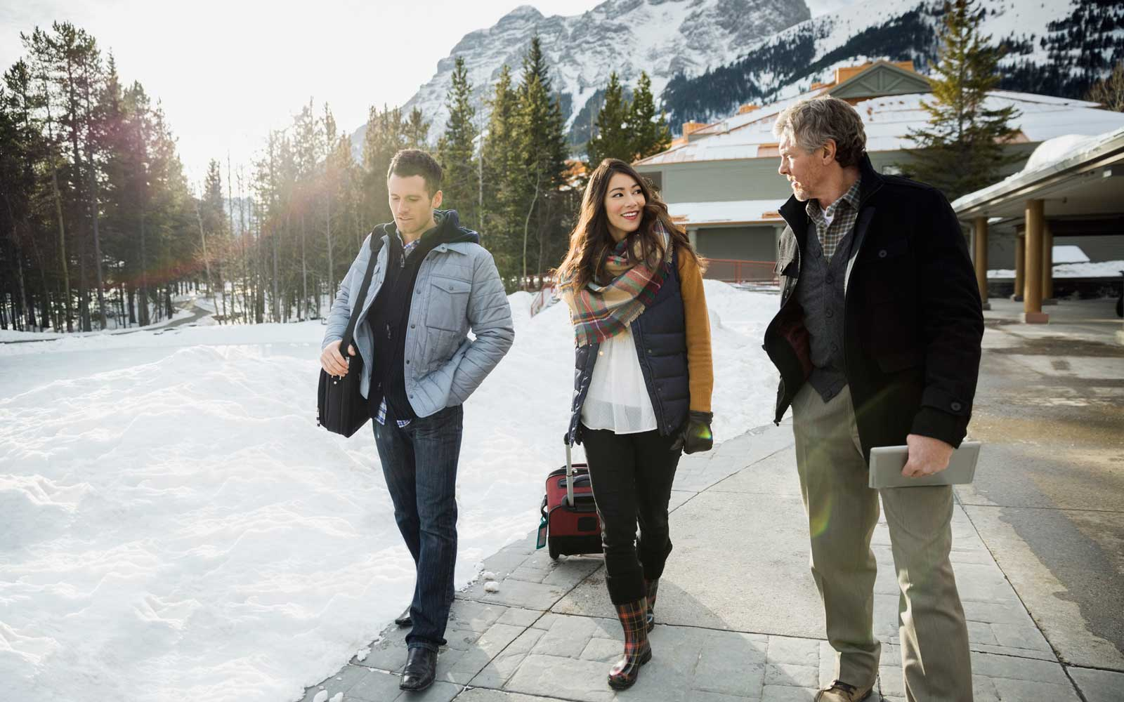 Winter Travel with thin layers
