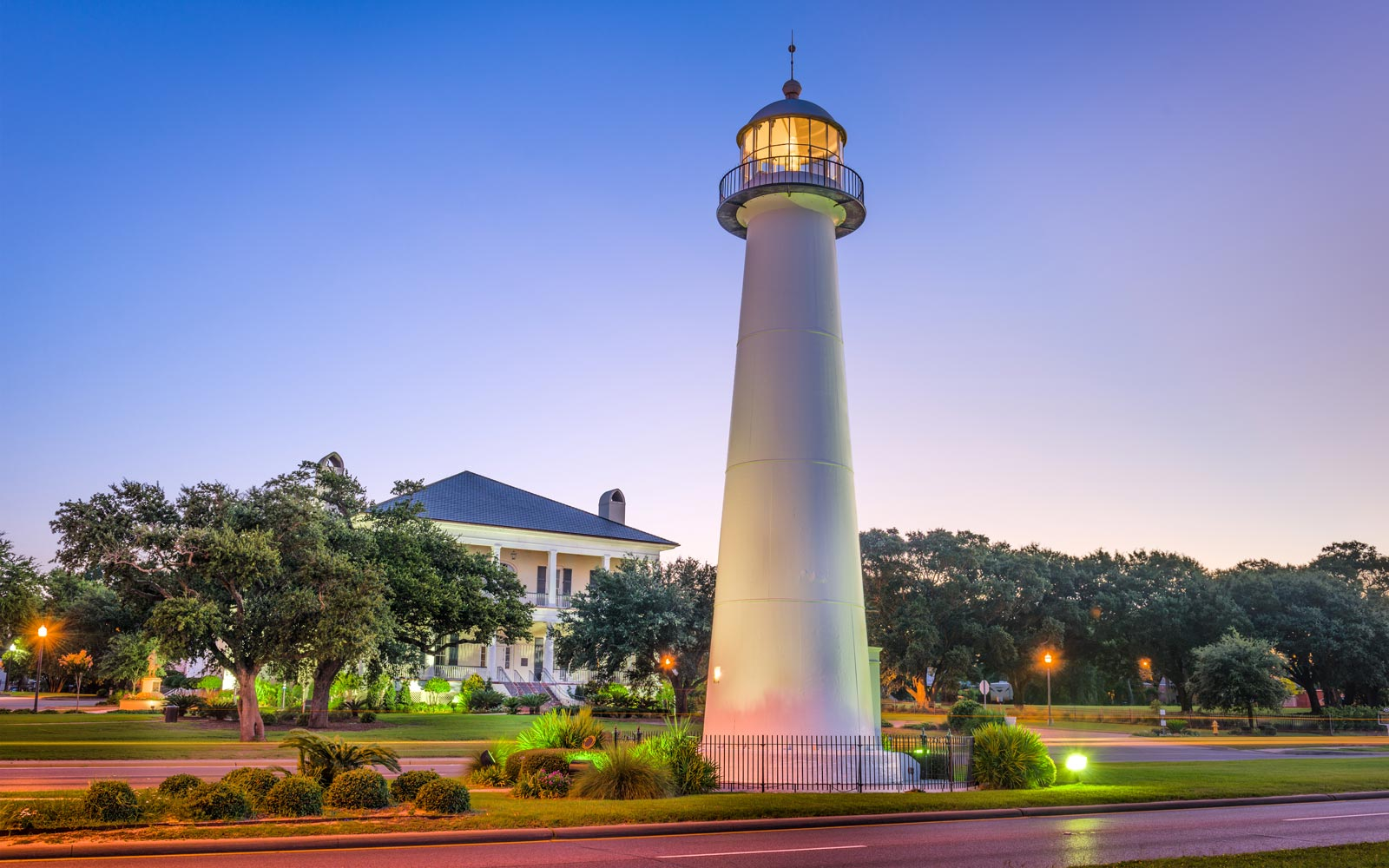 Lighthouse in Biloxi, Mississippi