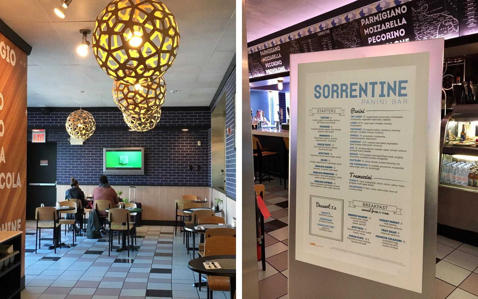 Sorentine Panini Bar, Laguardia Airport, New York