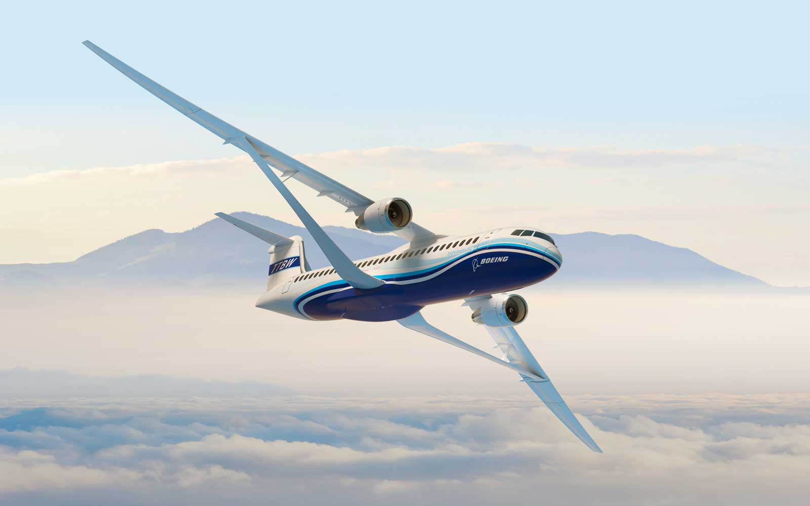 TTBW Boeing Design NASA Wings